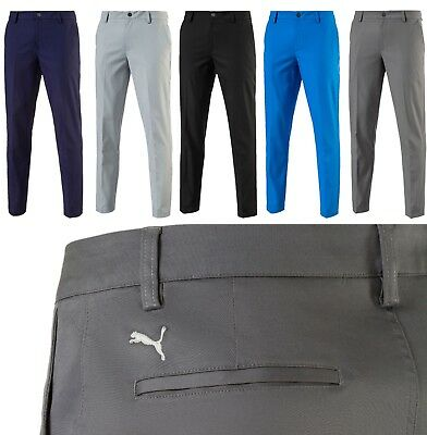 2018 Puma Golf Tailored Tech Golf Trousers RRP£60 - Tapered Leg - ALL SIZES