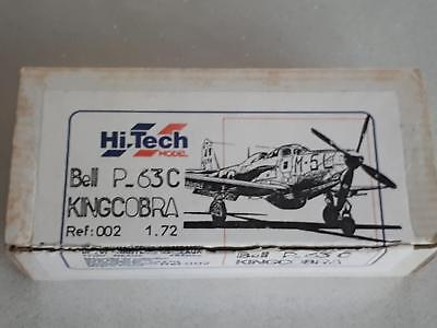Hi-Tech Model 002 Bell P-63 C Kingcobra US Air Force Fighter Photo Etched Parts