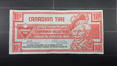 Canadian Tire Money 10 Cent Bill Free Shipping