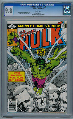 THE INCREDIBLE HULK #239 (Sep 1979) 9.8 NM/MT (CGC) White Pages