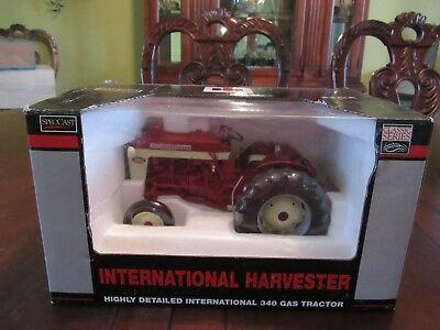 Speccast 1/16 Scale International 340 Gas Tractor - Nib - Never Displayed
