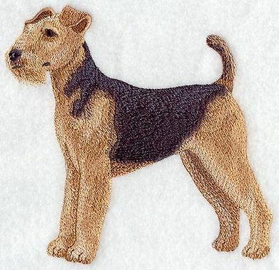 """Airedale Terrier Dog, Embroidered Patch 6.1""""x5.8"""""""
