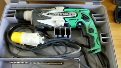 HITACHI SDS 3 MODE HAMMER DRILL DH24PC3 110V inc. case