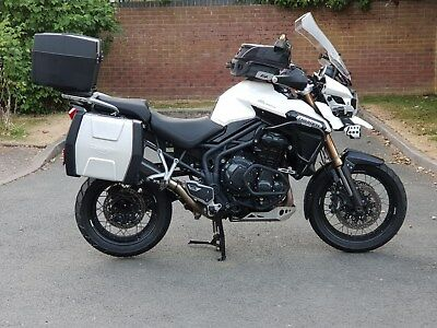 Triumph Tiger Explorer 1215 XC Spec Fogs H/Grips h/Seats 26k Full Luggage 2014