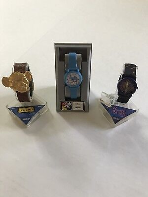 Disney Watch Lot Of 3 New Timex Disney Store Lion King Gaston Aladdin Works