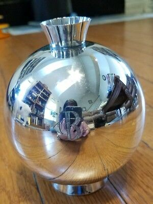 Gorham Sterling Silver Ball Vase