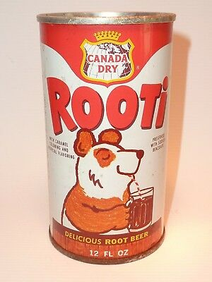 12oz Canada Dry Rooti Root Beer Pull Tab