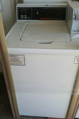 Speed queen commercial washer clean condition top load coin operated