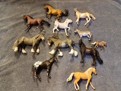 CollectA Model Horses Lot of 11 Like Breyer