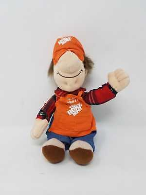 The Home Depot Vintage Collectible Plush Bean Bag Doll Hi I'm Homer Without Tags