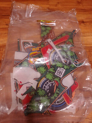 Williams The Getaway pinball COMPLETE plastics set.  Brand new!