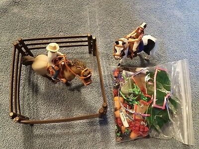Schleich Western Riding Set and English Riding Set