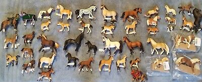 Schleich horse lot of 43 horses