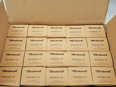 MARKWELL STCR 2619 1/2 20 Boxes of 5k staples