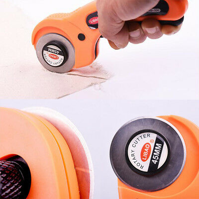 45mm Round Wheel Rotary Cutter Quilters Sewing Quilting Fabric Cutting Craft DIY