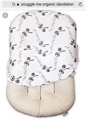 Snuggle Me Organic- Baby Lounger/ Co-sleeper