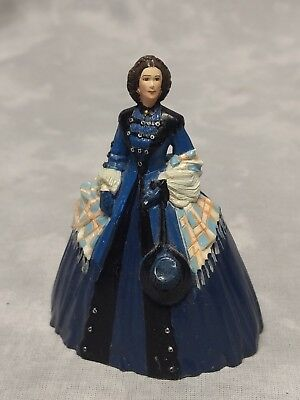 """Franklin Mint Gone With the Wind 3.5"""" Mrs. O'hara Figurine 1990"""