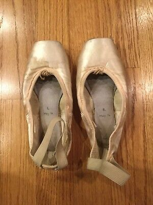Used Ballet Dance Pointe Shoes