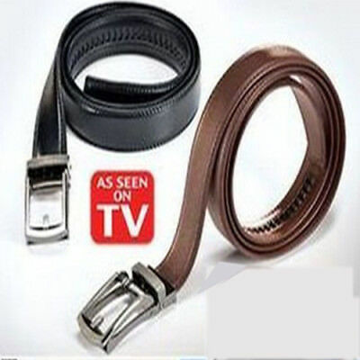 HOT 20118 NEW Popular Comfort Click Belt for Men Black or Brown As Seen on TV