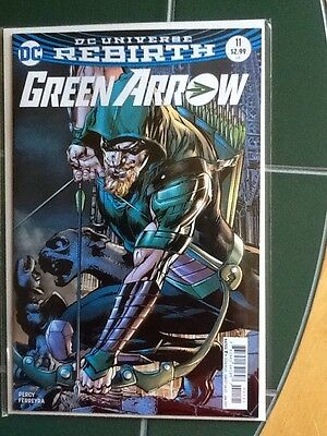 Green Arrow Issue #11 DC Universe Rebirth Neal Adams Variant Cover Comic