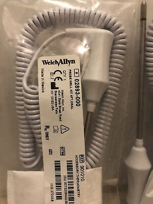 Welch Allyn 02893-000 Oral Probe & Well Kit 4FT – SureTemp + 692/690 *BRAND NEW*