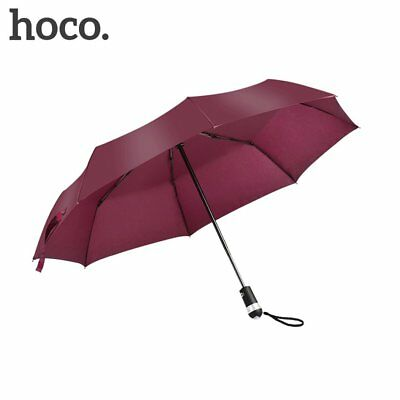 HOCO Wind Resistant Folding Automatic Umbrella UV Resist With LED GD