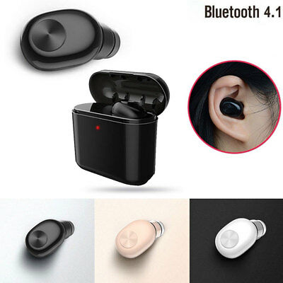 Wireless Bluetooth Earphone Single Earbud For Apple Air-pods iPhone 7/8 Android