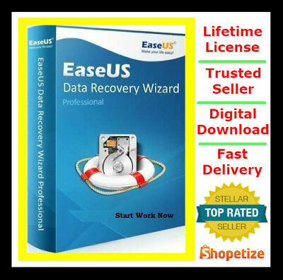 EASEUS DATA RECOVERY 11.8 PROFESSIONAL 🔵 FULL VERSION 🔵 64Bit only