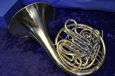1966 Reynolds Contempora FE-03 Kruspe Wrap Double French Horn w/Case, Mouthpiece
