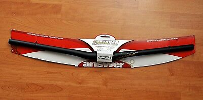 "ANSWER ProTAPER AM 720 12,7 5"" 31,8 black LENKER BAR NEU OVP KULT"