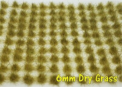 Dry Grass Tufts - 120 x 6mm Self-Adhesive Grass Tufts