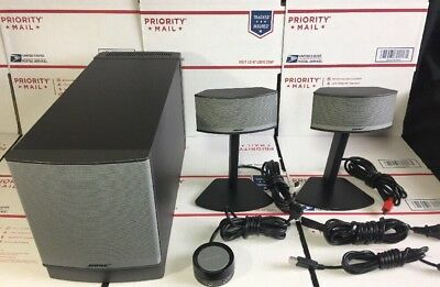 Bose companion 5 Multimedia Speaker System W/ Pod + All Cables - 100% WARRANTY