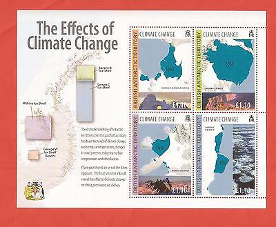 B.A.T.: Block 17 aus 2009/The Effects of Climate Change - postfr. - siehe Bild