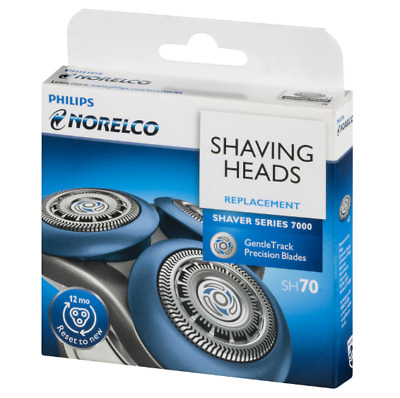 Philips Norelco Series 7000 Sh70 Replacement Shaving Heads Brand New Shipped*