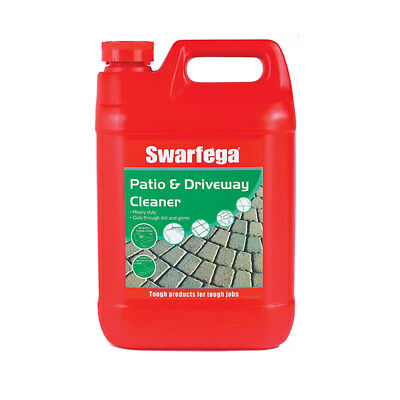 Swarfega SWPD5LB Patio & Driveway Cleaner Oil Stain Patio Cleaner 5L 5 Litres