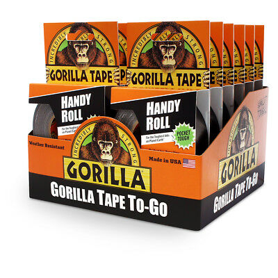 Gorilla 3044401 Tape To Go Handy Roll 9m Extra Strong For Repair - Pack Of 12