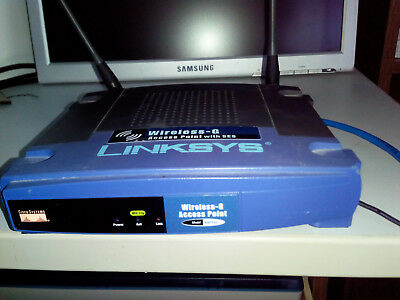 Linksys Wireless-G Access Point WAP54G mit SES  HardwareVer 3.1
