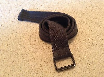 Next Dark Grey Material Boys Belt