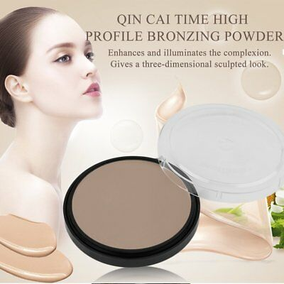 Professional Face Makeup High Light Shadow Silhouette Bronzer Cosmetic Powder GD