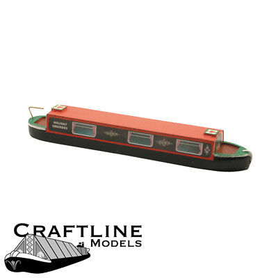 OO Boat balsa kit - Canal Holiday Cruiser Narrow Boat Craftline CHC45R