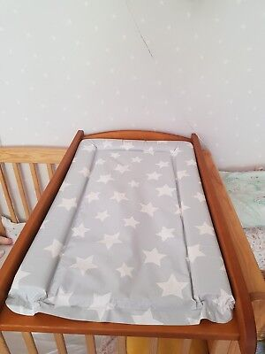 cot top changer/changing table with changing mat