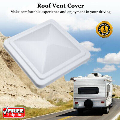 "14""x14"" Universal Trailer RV Roof Vent Cover Camper Trailer Motorhome Fan Lid US"