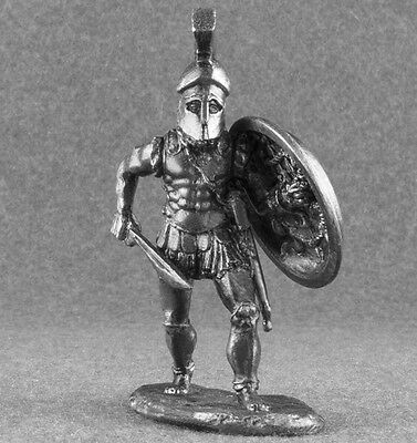 Miniature Spartan Hoplite Ancient Greece Warrior 1/32 54mm Toy Soldiers Greek