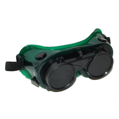 Welding Ventilation Goggles IR5 Glass Lens Double Layer Eyes Protection UK