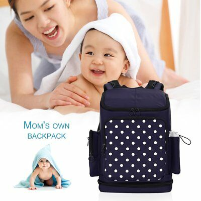WXD Large Capacity Multifunctional Maternity Backpack Travel Nappy Diaper GD