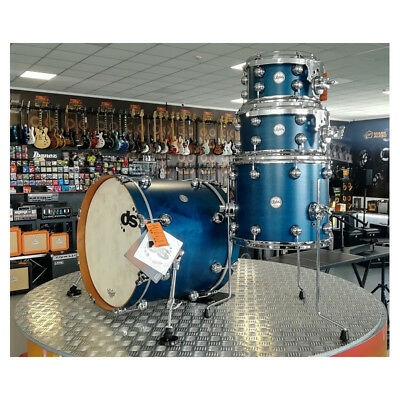 Batteria Acustica DS Drum Rebel 20-10-12-14 Aqua WBS