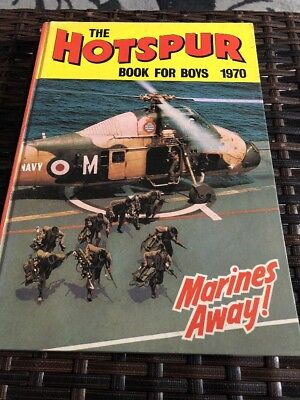 The Hotspur Book For Boys 1970 Vintage Adventure/Action Annual