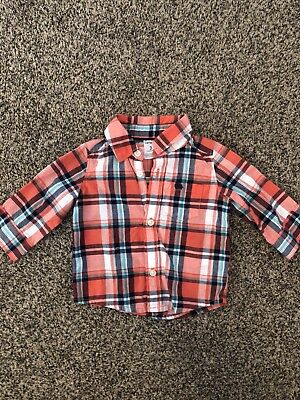 Boys 3 Month Button Shirt Carters Spring