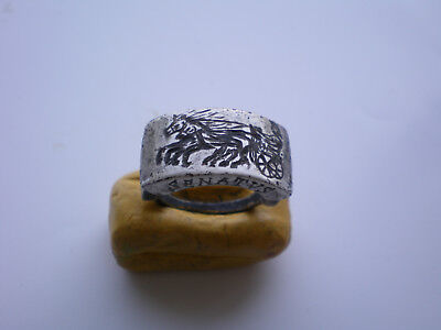 VERY RARE SENATORIAL Ancient-ROMAN LEGIONARY SILVER RING