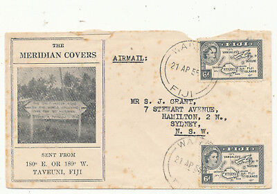 Fiji Islands 4 Commercial Covers + 1 Fdc (1955-1982)